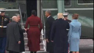 Los Obama dejan la Casa Blanca luego de ocho años