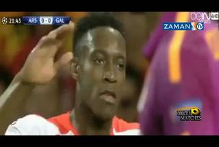 Galatasaray Arsenal karşısında dağıldı