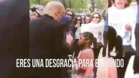 Una niña regaña a 'Donald Trump' de esta forma