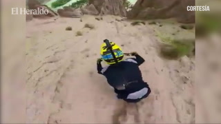 Impresionante Descenso de ciclismo de montaña (Down Hill) en EEUU