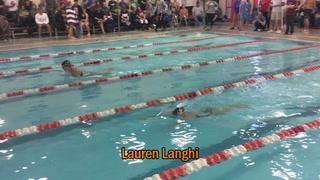 Langhi Takes Third in Girls 100 Yard Breaststroke