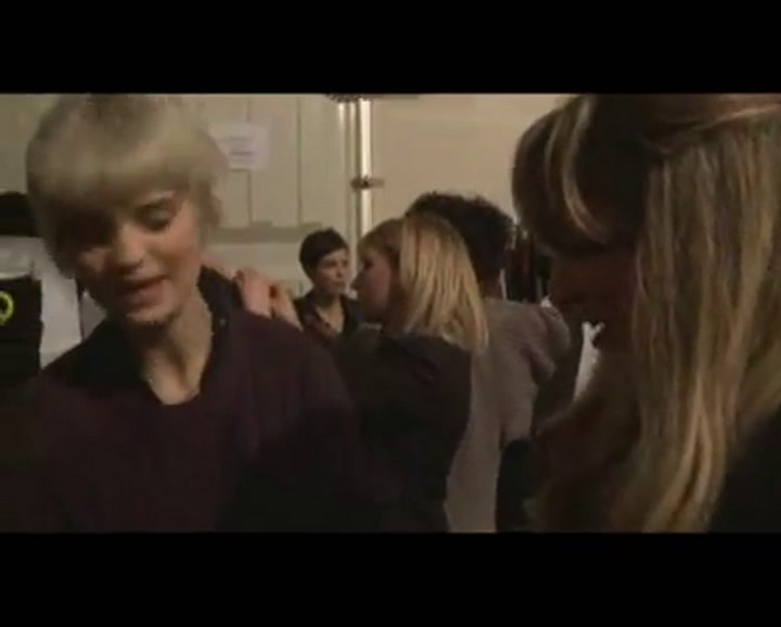Backstage with Pixie Geldof