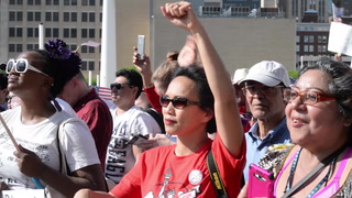 A Mega March in Dallas for Justice