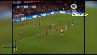 Iban a ser dos golazos: Willian y los remate que estrelló en el poste ante el Barça