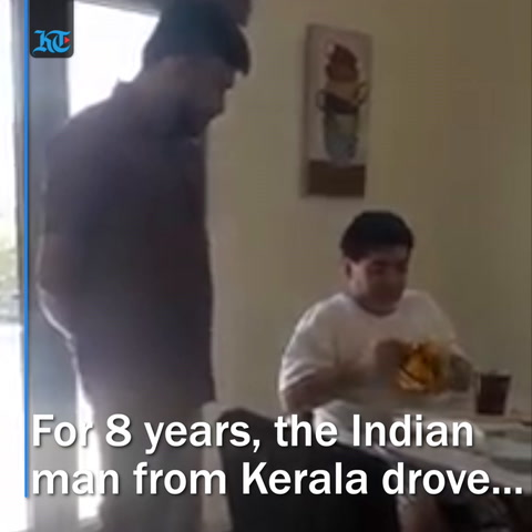 When Maradona got a surprise gift from his Indian driver in Dubai