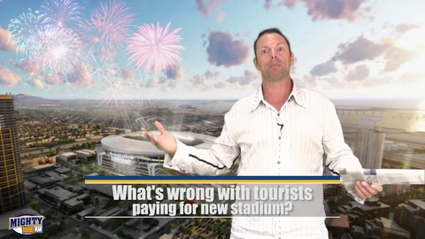 Kaplan- What's wrong with tourists paying for new stadium?