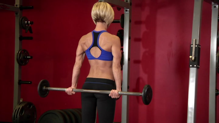 Behind The Back Wrist Curl - Forearm Exercise