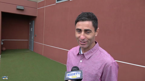 A.J. Preller on Jered Weaver & his pending fit with the Padres