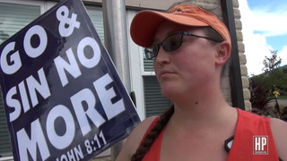 Westboro Baptist Church Protests in Houston