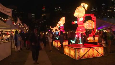 Australia festeja el Año Nuevo Chino