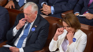 Democrats embarrass themselves during Trump's Congressial speech