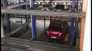 El increíble estacionamiento robotizado que pretende aliviar el caos de Pekín