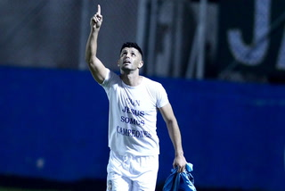 ¡GOOOOOL DE REAL DE MINAS!  Israel Silva abre el marcador 1-0 ante Juticalpa FC