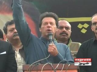 ہماری جنگ کسی کی ذات کے خلاف نہیں کرپٹ ٹولے کےخلاف ہے،عمران خان
