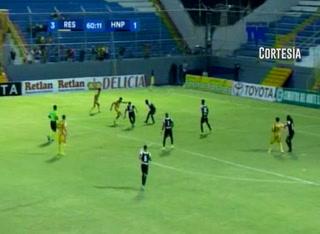 Goooooooooool de Real España, Zalazar marca el 3-1 ante el Honduras Progreso al minuto 59