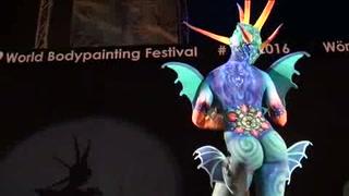 El 'bodypainting' tiene su fiesta mundial en Austria