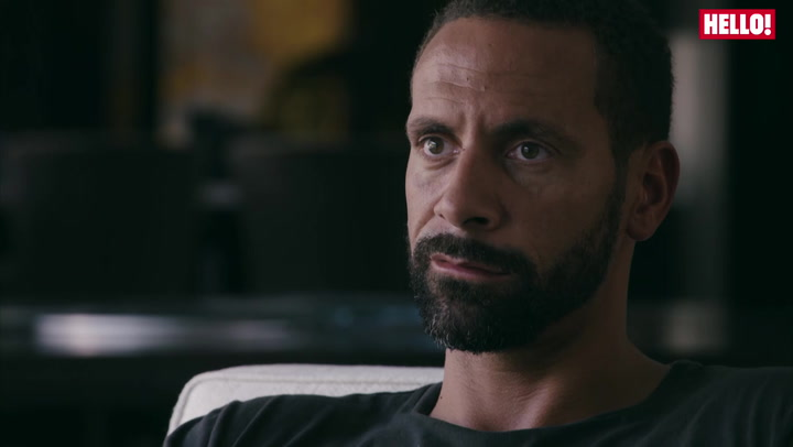 Rio Ferdinand stars in a clip of his heartbreaking documentary \'Being Mum and Dad\'