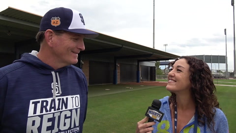 Darren Balsley on Weaver, Capps & competition for the starting rotation