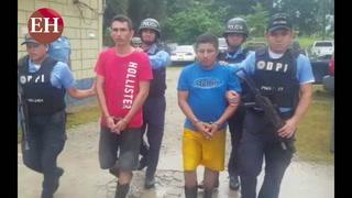 Capturan dos secuestradores aldea El Cartón, Yoro