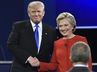 Primer debate presidencial de EU Clinton - Trump
