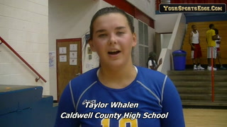 Taylor Whalen On Caldwell County Win