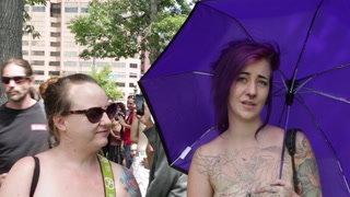 Free the Nipple! Denver Go Topless Day Draws Hundreds of Participants