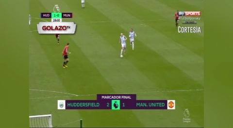Huddersfield  2 - 1 Manchester United