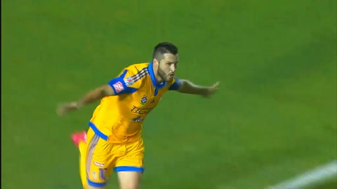 VIDEO - Stunning bicycle kick goal for Tigres striker
