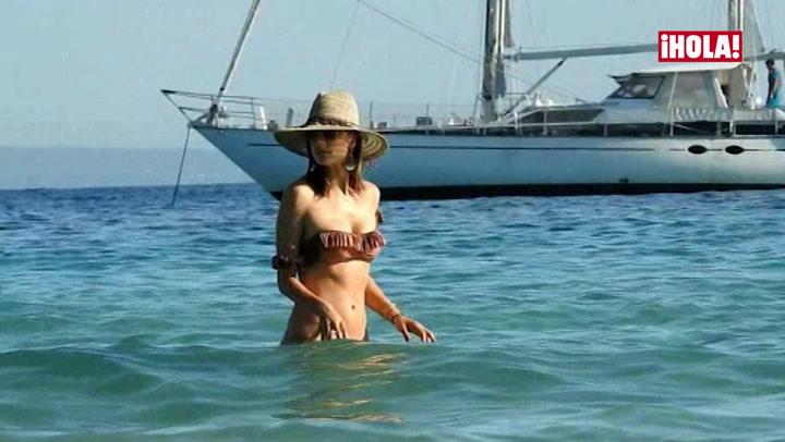 Alessandra Ambrosio, un ángel en el paraíso ibicenco