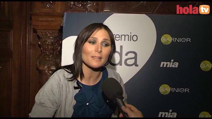 Rosa López: \'Estoy centrada en mi profesión, pero soy joven y entro y salgo\'