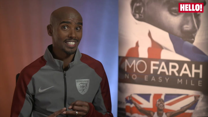 Mo Farah shares his tips for running 10k for his new Olympic documentary.mp4