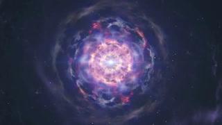 Observan por primera vez la fusión de dos estrellas de neutrones