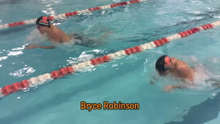 Robinson and Hanson Duel Down the Stretch in Boys 100 Breaststroke