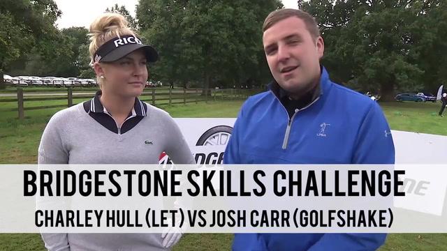 Charley Hull Bridgestone Skills Challenge