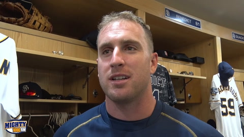 Patrick Kivlehan on making most of opportunity with Padres