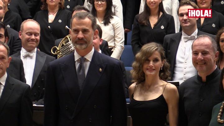 Los Reyes inauguran agenda en Asturias con el tradicional concierto previo a los Premios Princesa de Asturias