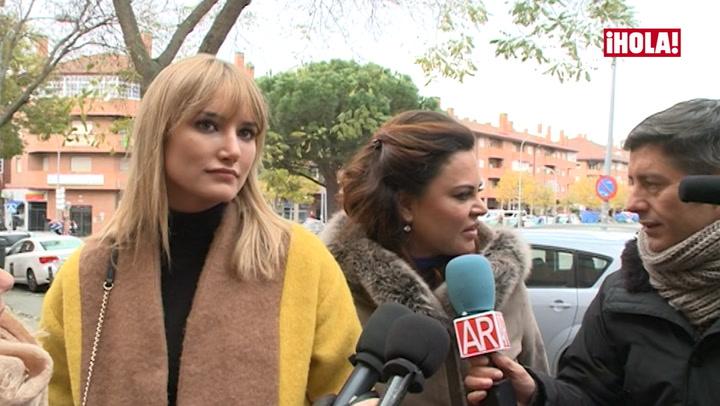 Alba Carrillo se ve por primera vez ante el juez con Feliciano López