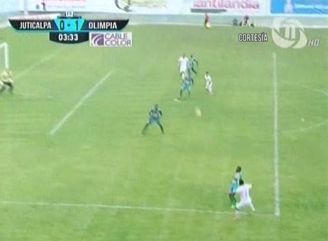 Juticalpa 2 - 2 Olimpia (Liga Nacional Honduras)