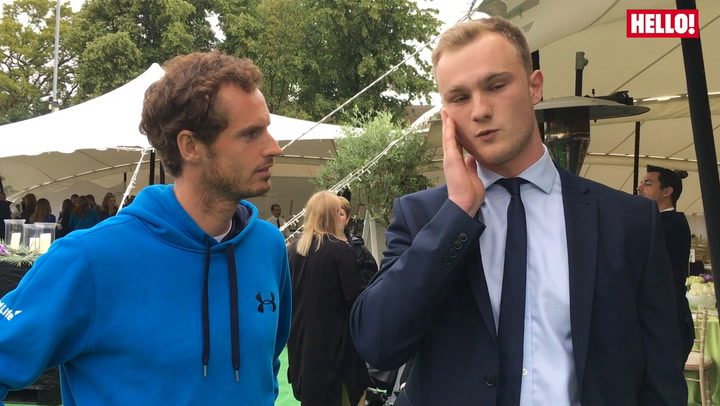 Andy Murray comes face to face with top impressionist Josh Berry - see the funny clip!