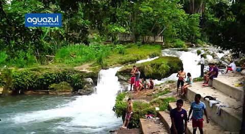 Ruta 504: Atrayentes aguas de la aldea Río Lindo