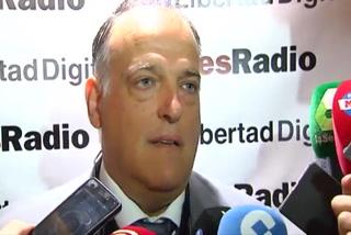 El presidente de la Liga de España habla del gesto de Ramos a Piqué