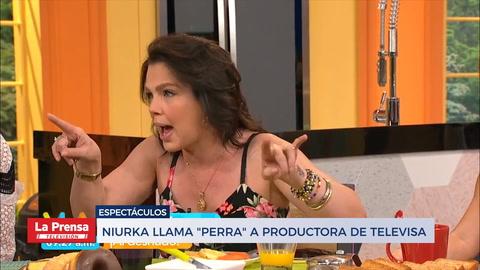 Niurka Marcos arremete contra productora de Televisa y la llama
