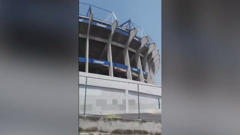 Estadio Azteca sufre grieta producto del terremoto magnitud 7.1
