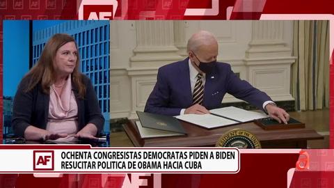 Ochenta Congresistas Demócratas piden a Biden resucitar política de Obama Hacia Cuba
