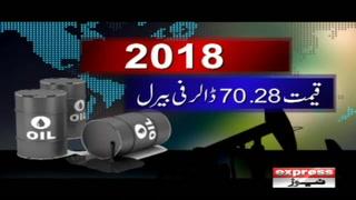 عالمی منڈی میں خام تیل کی قیمت 70.28 ڈالر فی بیرل