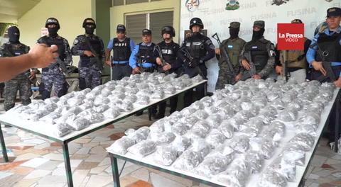 Detenidos y un almacén desmantelado deja operativo en El Merendón