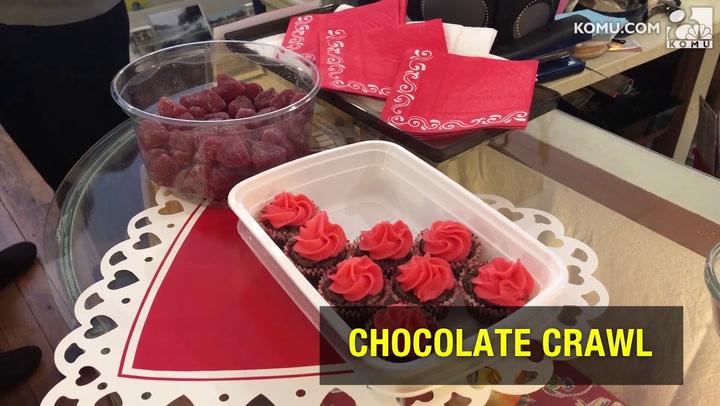 Chocolate crawl is tasty celebration of Valentine's Day