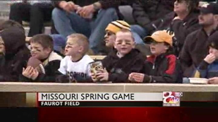 Mizzou Football Spring Game