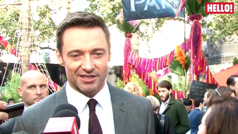 Hugh Jackman chats songs, swords and rising stars at the World Premiere of Pan