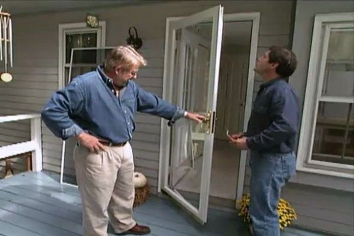 How to Install a Glass Storm Door